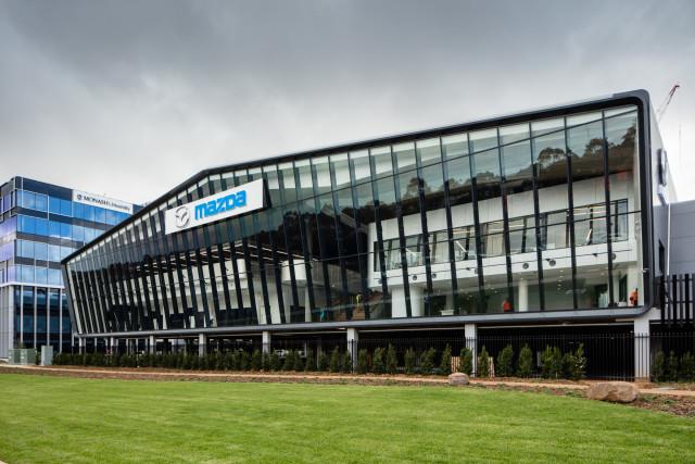Mazda New Head Office