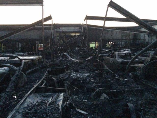 International Vehicle Importers fire