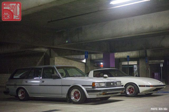 019-IMG_9690_Toyota Cressida X70 wagon & Mazda RX7 SA22 FB