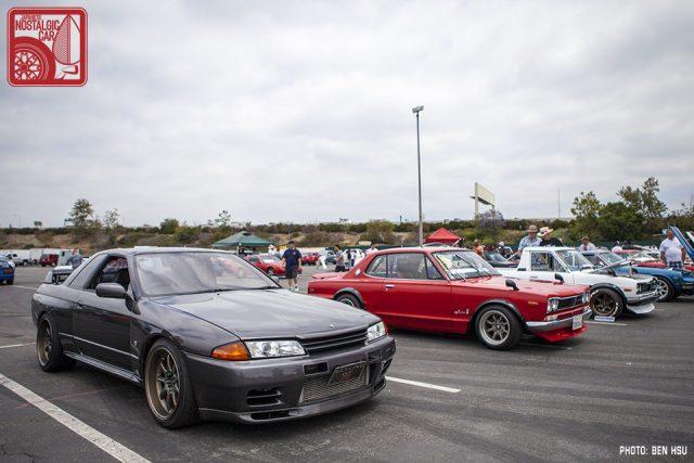 072-0343_Nissan Skyline GTR R32 & Hakosuka C10