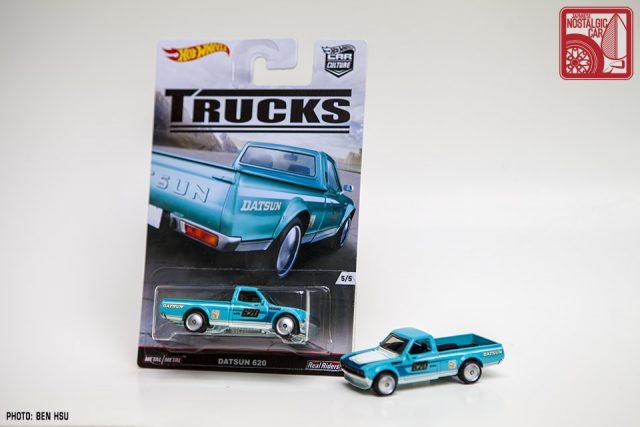 1492_Hot Wheels Car Culture Trucks Datsun 620