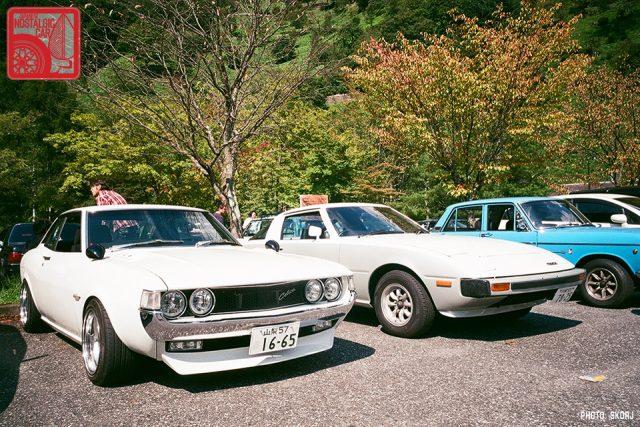 Okutama_B-day-22_Toyota Celica A20 & Mazda Savanna RX7 SA22