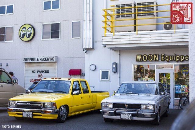 07-2337_Mooneyes Toyota Hilux Dually & MS51 Crown