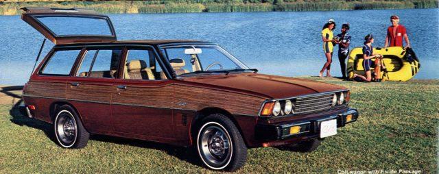 1978 Mitsubishi Sigma Dodge Colt Wagon