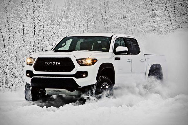 Toyota Tacoma TRD Pro white