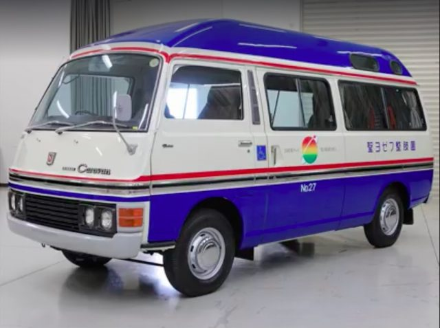 1978 Nissan Caravan Chair Cab restoration 10