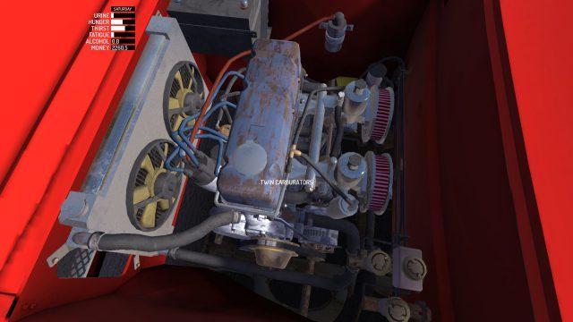 My Summer Car Datsun Cherry engine