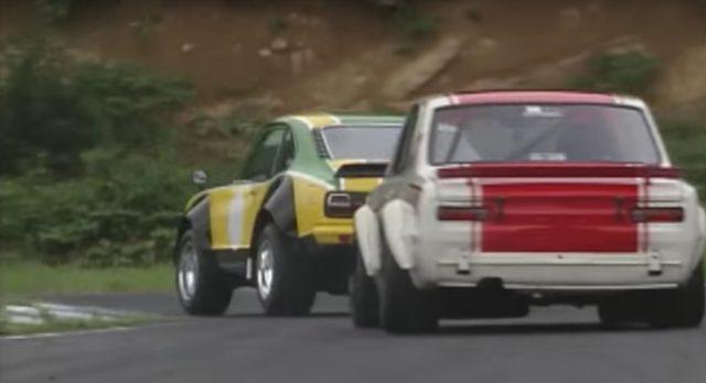 Best Motoring Nissan Skyline GTR KPGC10 vs Mazda Savanna RX3