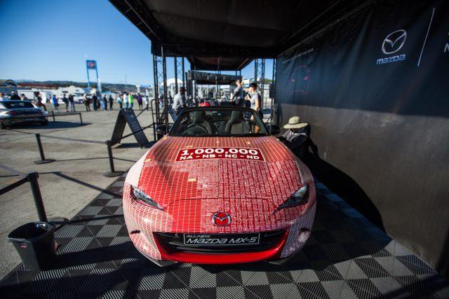 Miatas at Mazda Raceway 2016
