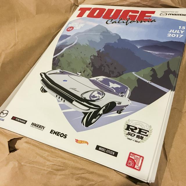 Touge California 2017 poster