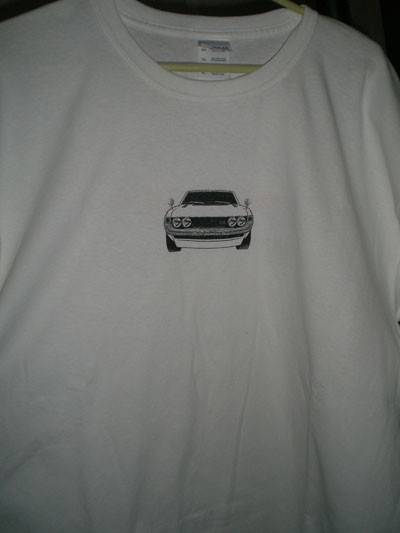 celica shirt front