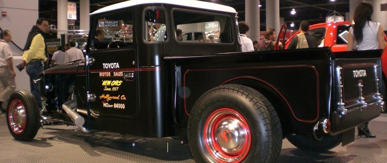 toyota landcruiser rat rodrat rod pickup truck rat rod. Black Bedroom Furniture Sets. Home Design Ideas