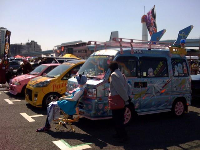 Itasha Car Show At Odaiba Japanese Nostalgic Car