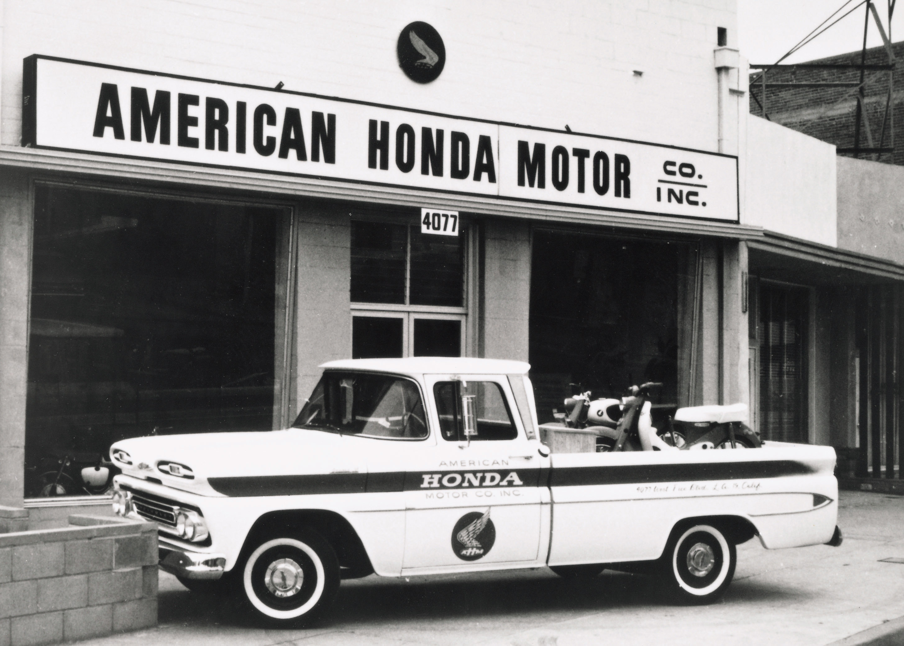 Honda Recreates 1959 Storefront In HQ Lobby