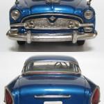 asahi tin toyota crown s30 1960 - blue