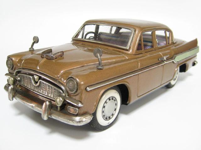asahi tin toyota crown s30 1960 - brown 01