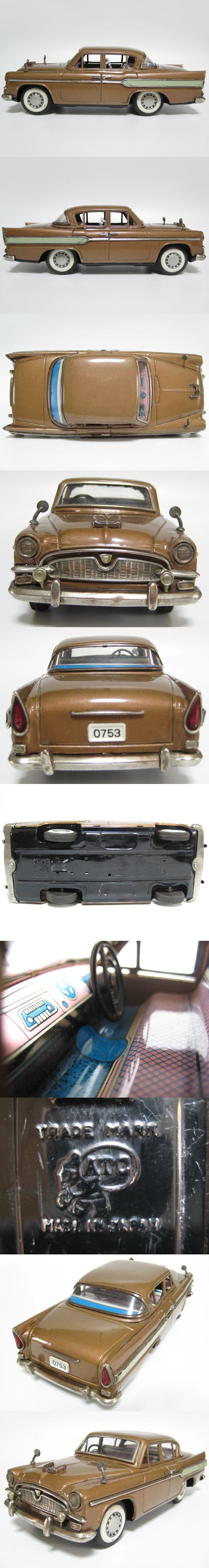 asahi tin toyota crown s30 1960 - brown 02