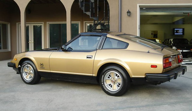 datsun 280zx black gold 10th anniversary 1of3000 02