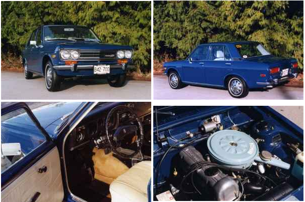 Kidney, Anyone? One-Owner 1972 Datsun 510 | Japanese