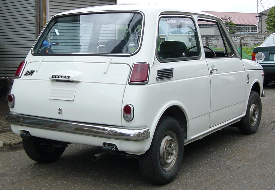 honda_n360 rear
