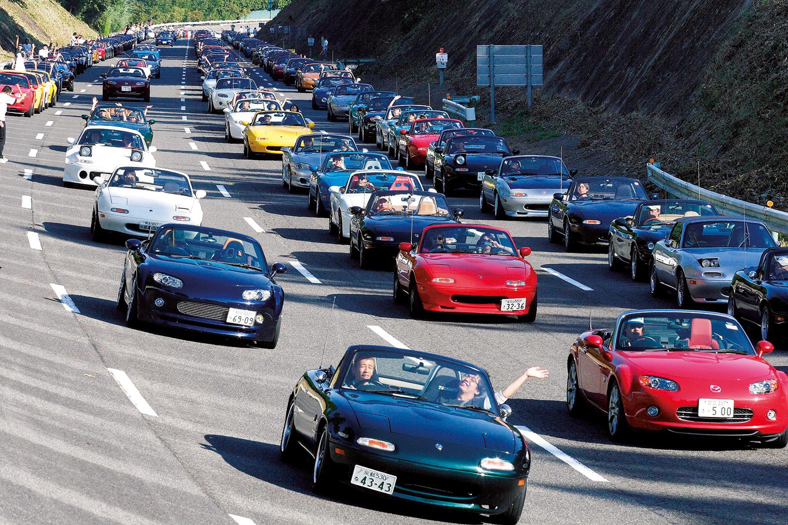 MOTORSPORT Inaugural Mazda Miata Heritage Cup Inducts MX Into - Mazda racing series