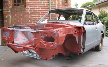 1973 mazda rx-3 shell