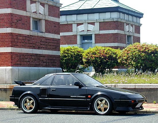 toyota mr2 aw11 black limited