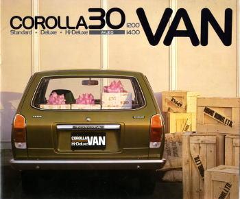1974 toyota corolla 30 van