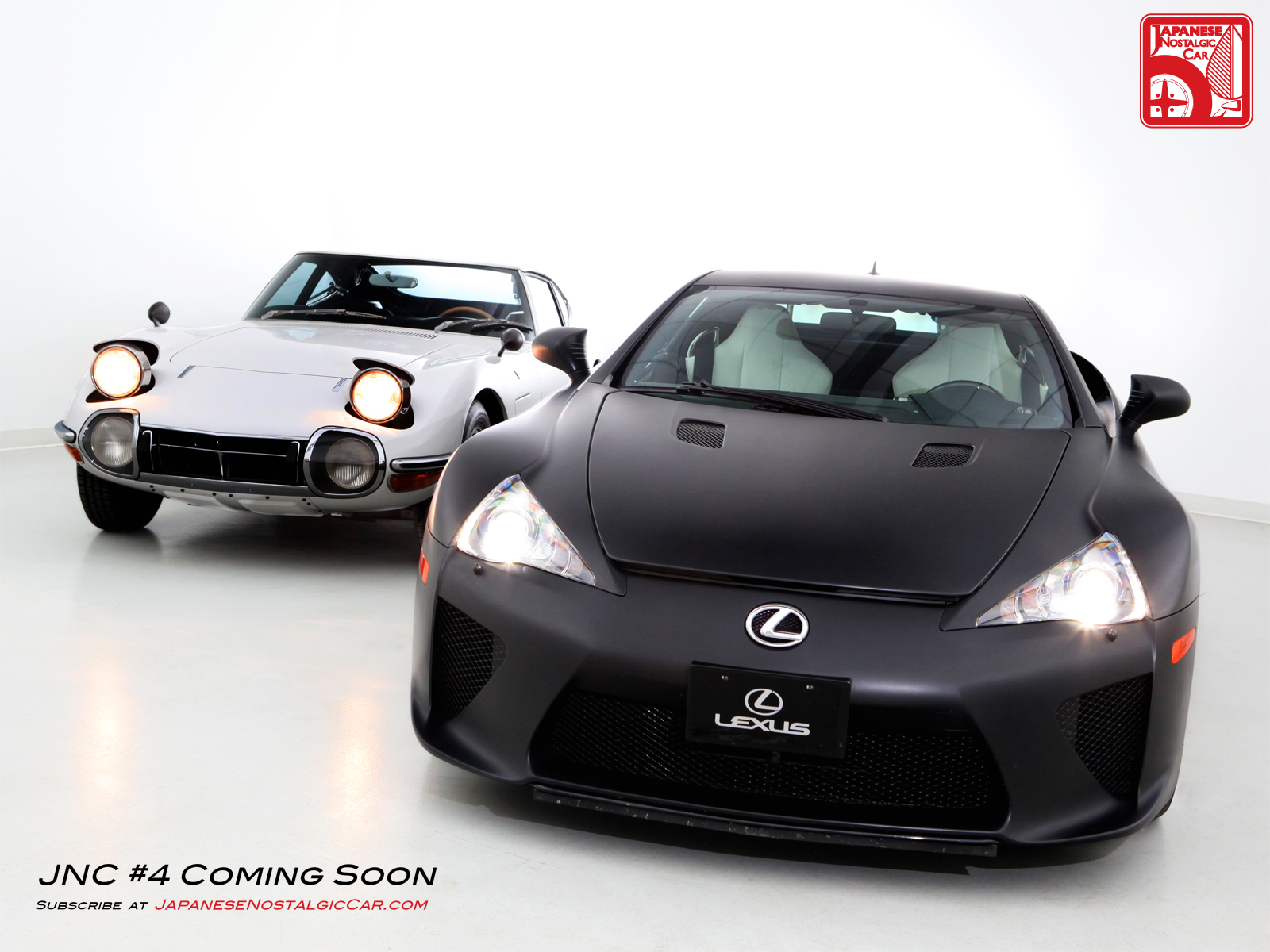 Wednesday Wall Jnc 4 Preview Lexus Lfa Amp Toyota 2000gt