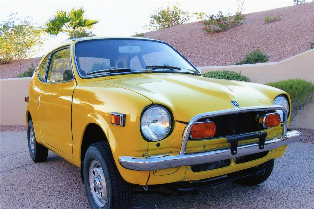 Honda Z600 Sells for $27,500 at Barrett Jackson | Japanese ...