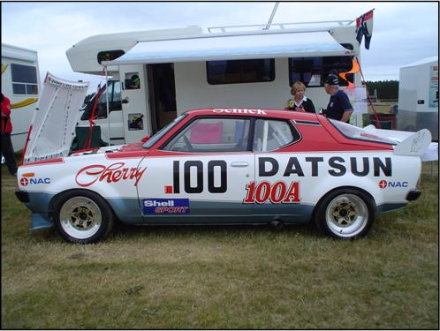 David Brown Datsun Cherry 100A 01