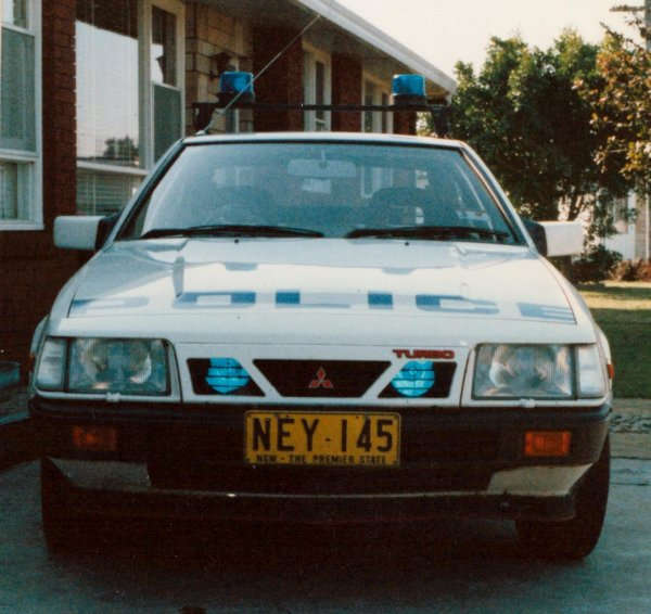 mitsubishi cordia turbo police pursuit car 01