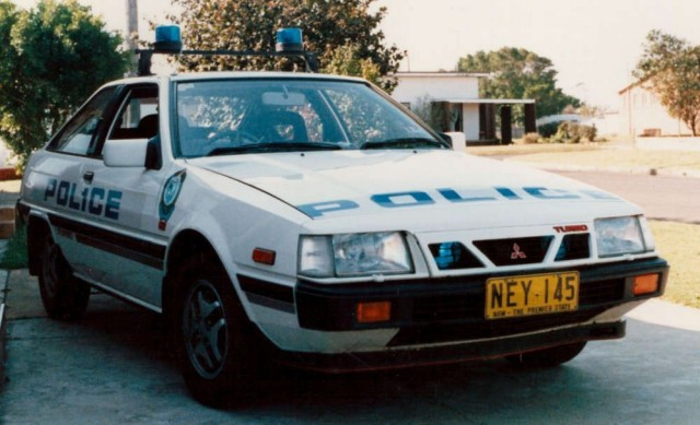 mitsubishi cordia turbo police pursuit car 02