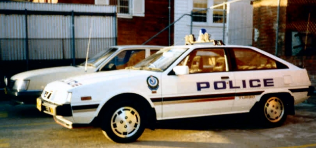 mitsubishi cordia turbo police pursuit car 03