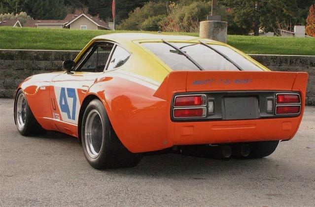 IMSA GTU Datsun 240Z Brad Frisselle05