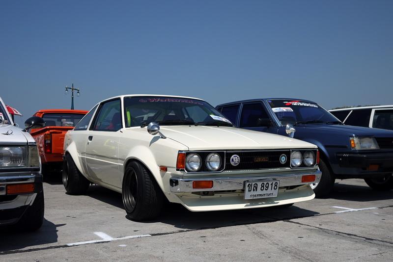 retro car thailand bangkok toyota corolla te71