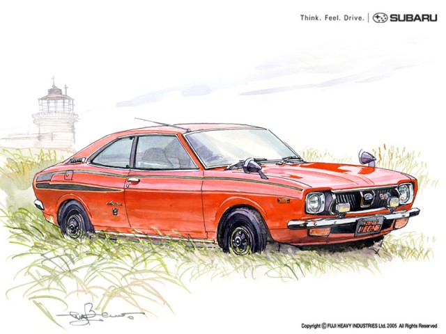 subaru leone by bow
