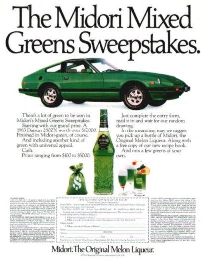 Datsun 280ZX Midori Green