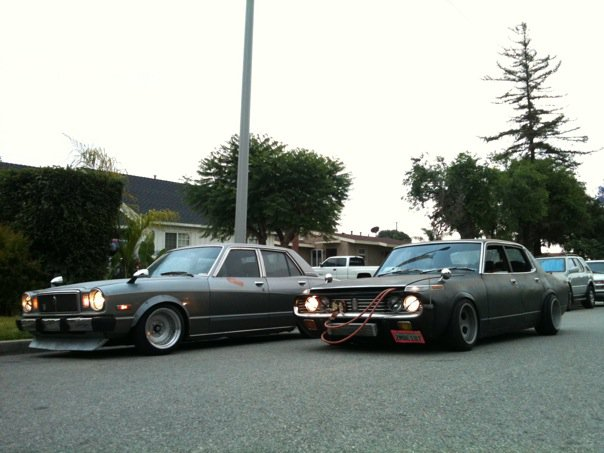 Shakotan Sedans Toyota Cressida And Crown Japanese