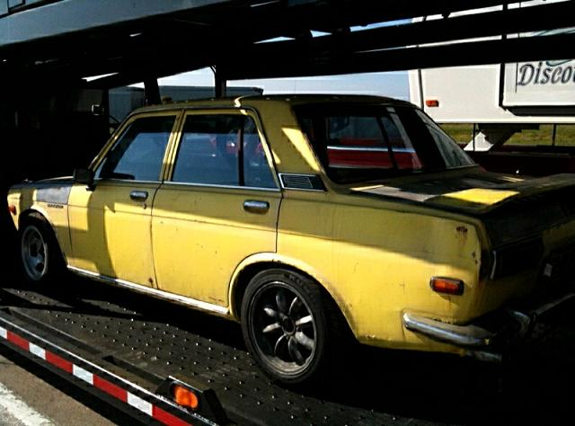 Datsun 510 Spotted on Transformers 3 Set | Japanese ...