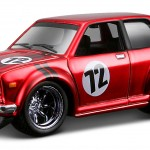 maisto-55 datsun 510 - liquid red