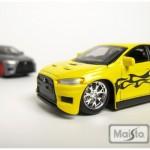 maisto-55 mitsubishi lancer evoX - yellow