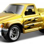 maisto-55 toyota pickup - gold