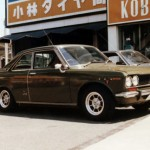 kobayashi tire & wheel - nissan bluebird 510