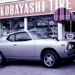 kobayashi tire & wheel - nissan cherry