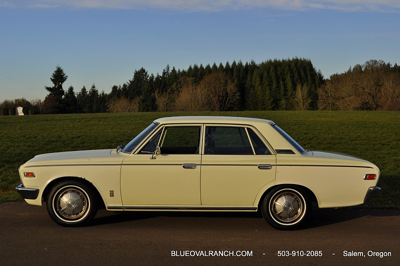 Kidney, Anyone? 1970 MS55 Toyota Crown Deluxe | Japanese ...