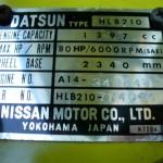 1976 Datsun B210 16