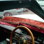MS125 Toyota Crown Chinchilla dash cover