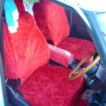 MS125 Toyota Crown Chinchilla seat cover