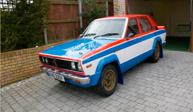 Kidney Anyone 64 000 Nissan Stanza Ex Works Rally Car
